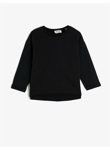 Koton Sweatshirt Siyah